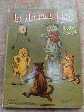 Antique childrens book     In Animal Land with Louis Wain .  S.W.Partridge