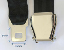 Commuter Plane Airplane Aeroplane Airline Seat Belt Strap Extension Extender