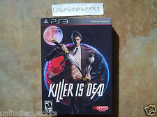 Killer is Dead Limited Edition + Pre-order Bonus PlayStation 3 Brand New Sealed