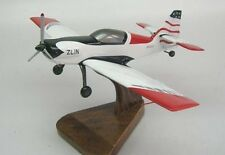 Zlin Z-50 Aircraft Sport Aerobatic Airplane Wood Model Large Free Shipping New