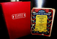 Home Cooking The Flavel Way 1960's & Household Guide, Almanac 1952