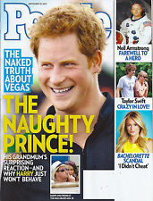 Prince Harry, Neil Armstrong, Taylor Swift, Emily Maynard  Sept. 10, 2012 People