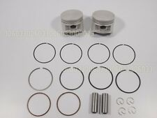Virago XV250 XV125 Crankshaft PISTON STD Pin Circlip Ring Set 88-10 P36 GTC