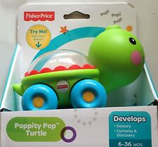 NIB Fisher-Price Poppity Pop Turtle