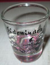 Sidewinder Western Style Cowboy  Snake Shot Glass w/ Amethyst color Bottom