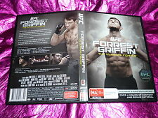 UFC FORREST GRIFFIN THE ULTIMATE FIGHTER : (DVD, MA15+)