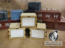 Shipping Containers (Small) wargaming terrain 40k Infinity Post apocalyptic