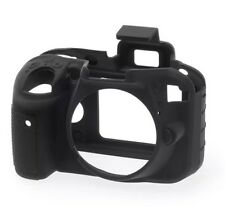 easyCover Protective Skin Camera Cover for Nikon D3300 [Black] Silicone NWB Gift