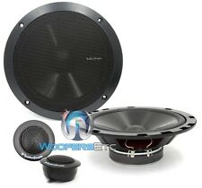 "ROCKFORD FOSGATE R1652-S 6.5"" CAR 6 1/2"" COMPONENT SPEAKERS MIDS TWEETERS NEW"
