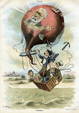 WHITELAW REID PHELPS ELKINS RIDE JAMES BLAINE BALLOON OVER POLITICAL FAILURE SEA