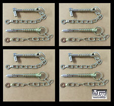 8 X Sword Pin and Chain 12.5mm x 88mm (Trailer Parts Cotter Linch Pin Lynch Pin)