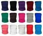 WOMENS PLAIN STRAPLESS RUCHED BANDEAU BOOBETUBE TOP LADIES VEST TUBE SIZE 8-22