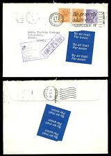 GB MACHINS to KOREA 1982 NOT KNOWN CACHET...AIRMAIL