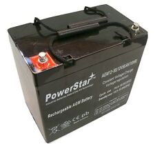 PowerStar® 55AH 12V DC DEEPCYCLE SLA SOLAR ENERGY STORAGE BATTERY US STOCK