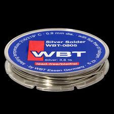 WBT Silver solder 42 g. 0.9 mm dia.. lead-free, WBT-0805 (1pcs)