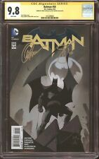 Batman #50 CGC 9.8 SS Signed Scott Snyder & Greg Capullo DC Comics Rebirth NM/MT