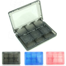 28in1 TF SD MS CF Memory Card Holder Plastic Protector Cases For Nintendo 3DS DS