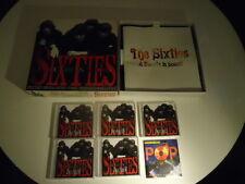 Sixties-a Decade dans sound - 10 CD LIVRET + 60's pop quiz CD-rom-Box-set