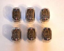 IN-12 6PCS NEW NIXIE TUBES NOS 100% GARANTY WORKING IN12 IN-12A IN-12B IN12A