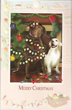 Labrador Retriever Lab Another Fine Mess Embossed Christmas Cards Box of 16