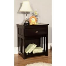 American Furniture Classics Nightstand Espresso 2960 Night Stand NEW