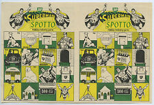 BP SPOTTO SUPERMAN HOLIDAY MOTORING GAME  FOR TOURING BORED BACK SEAT KIDS x72.