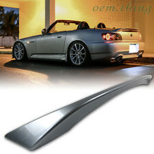 PAINTED HONDA S2000 Convertible OE Type Rear Boot Trunk Spoiler ABS 09 #NH552M ○
