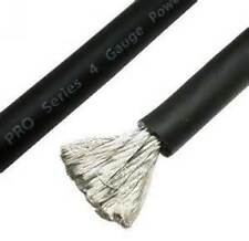 STINGER SPW14TB 4 AWG GAUGE 20MM² OFC BLACK POWER CABLE SOLD 5 METRE LENGTH