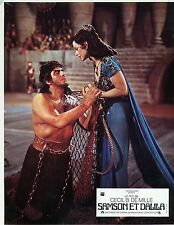 VICTOR MATURE HEDY LAMARR SAMSON AND DELILAH  1943 VINTAGE LOBBY CARD N°3