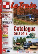 LE TRAIN CATALOGUE 2013 - 2014, TOUTE L'OFFRE EN DVD, LIVRE, EDITION DU CABRI