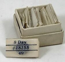 WALTHAM 8 DAY HAIR SPRINGS Factory Box full of all sizes and models