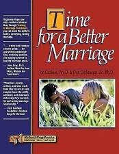 Time for a Better Marriage: Training in Marriage Enrichment (Rebuilding Books),