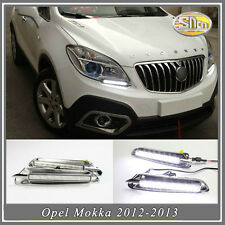 Sncn LED daytime running light DRL Fog lamp  for Opel Mokka 2012-2015