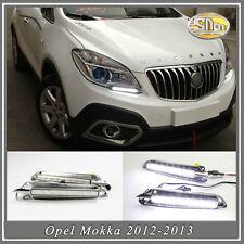 Sncn LED daytime running light DRL Fog lamp  for Opel Mokka 2012-2015
