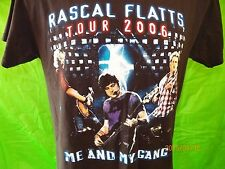 "RASCAL FLATTS Tour 2006 T-Shirt SMALL (2-Sided) ""Me and My Gang"" Country Concert"