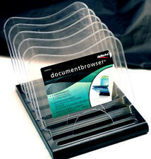 NEW DOCUMENT BROWSER / DESK ORGANIZER - MADE BY DEFLECTO