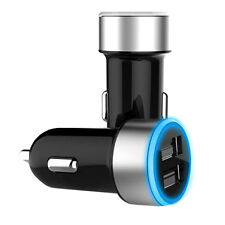 Car Charger QC3.0 Quick Charge Lighter Mini USB 2 Ports Fast Charging For Phones