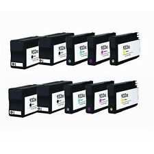 10 HP 932XL 933XL Replacement Ink Cartridges for Officejet Printer 6700 6600