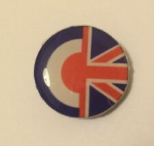 18mm TARGET UNION JACK FLAG 3D RESIN STICKER