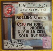 Rolling Stones   Toronto  3 LP s+ 2 CD s + 1 DVD Box set Colored Vinyl Limited