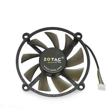 PWM 12V 4pin 2 Ball Bearing VGA Video Card Cooler Cooling Fan Hole to Hole 90mm
