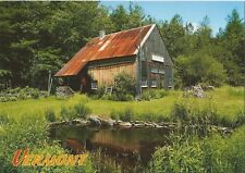 Postcard Vermont Londonderry Bob's Water Mill Windham County MINT