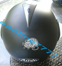 STICKER AUTOCOLLANT REFLECHISSANT CHAT REFLECTIVE CASQUE MOTO SCOOTER VELO