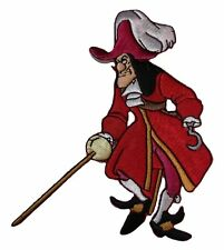 Disney's Peter Pan CAPTAIN HOOK Embroidered PATCH