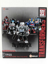 Kids Logic Transformers 2015 Nations TF03 Megatron Ironhide Jazz 5 LED Figure