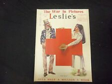 1918 MAY 18 LESLIE'S WEEKLY MAGAZINE - COME ACROSS - ST 2198