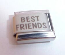 BEST FRIENDS Italian Charm Friend Besties N253 fit 9mm Classic Starter Bracelets