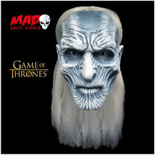 Official GAME OF THRONES White Walker Latex Collectors Mask-TV Halloween Costume
