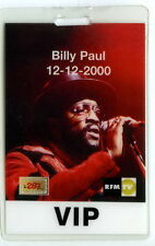 BILLY PAUL - backstage pass