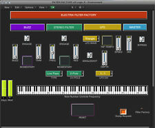 VIRTUAL editor / programmer -  ELECTRIX FILTER FACTORY - LOGIC v4 - X